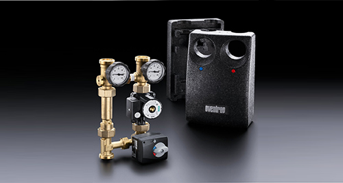 Connection of heat generators